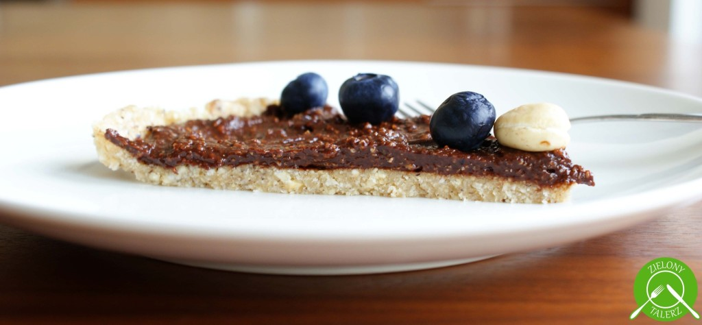 czekoladowa tarta bez pieczenia