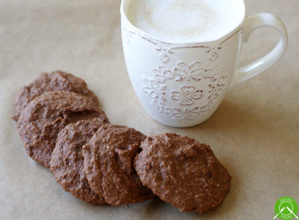 Ciasteczka czekoladowe owsiano - kokosowe